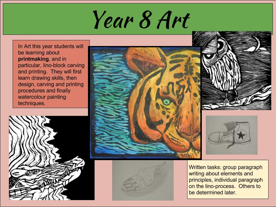 Thornlie Christian College Year 8 Art.jpg